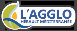 Logo agglo herault mediterranee