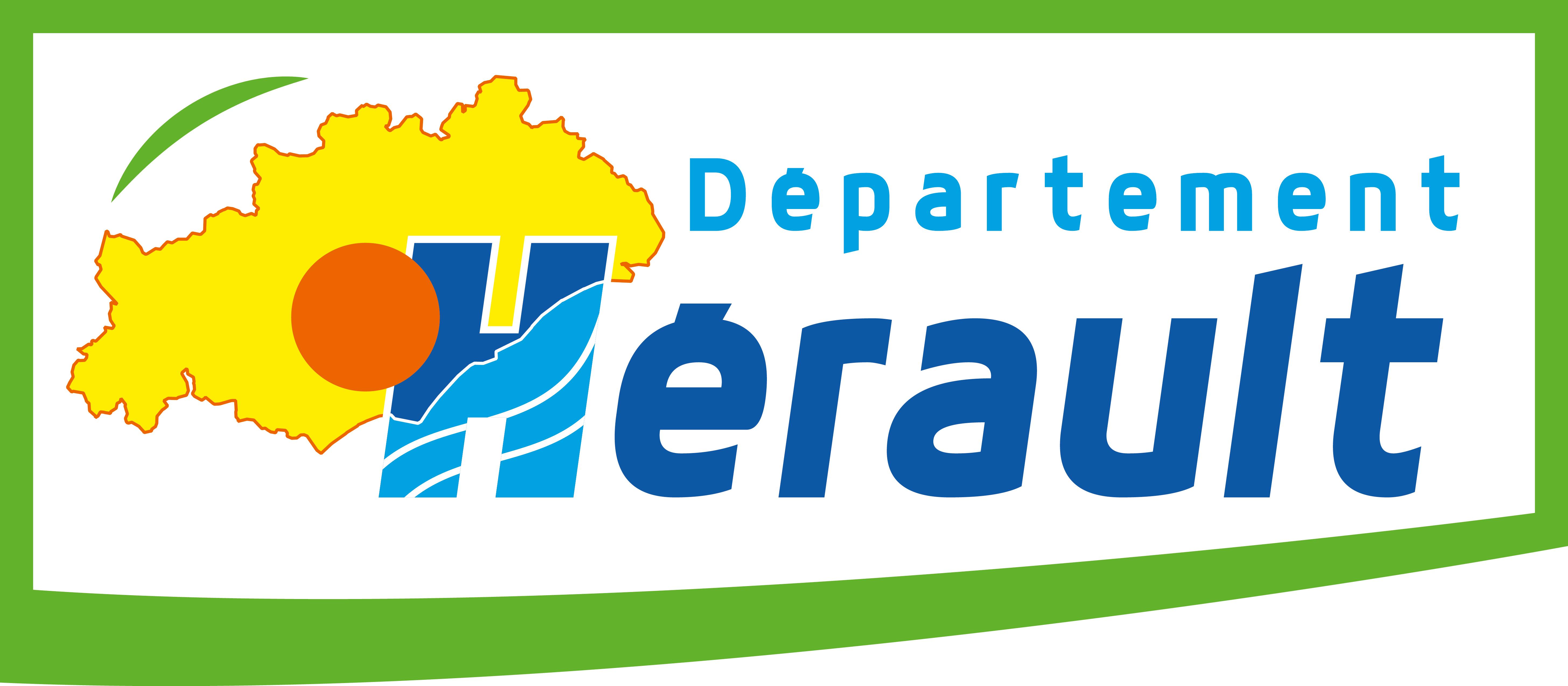 logo departement de l'hérault